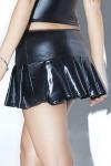 Mini jupe plissée Pleated
