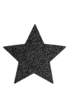Bijoux de seins Flash Etoile Noir