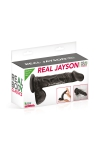 Gode réaliste 21 cm - Real Jayson Noir