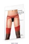 Porte-jarretelles rouge Penelope - Anne d'Alès
