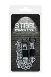 Pinces à seins avec chaine - Steel Power Tools