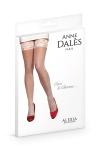 Bas autofixants Alexia Blanc - Anne d'Alès