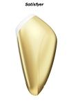 Stimulateur de clitoris Breeze doré - Satisfyer