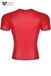 T-shirt wetlook rouge - Regnes