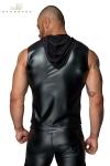 Veste à capuche sans manches H062
