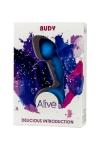 Plug anal budy bleu - Alive