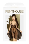 Nuisette Naughty doll noire - Penthouse