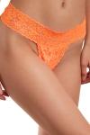 Culotte vibrante télécommandée Secret Panty 2 orange fluo