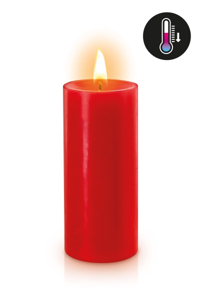 Bougie basse température rouge
