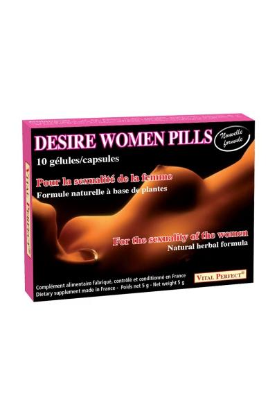 Desire Women Pills (10 gélules)