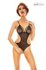 Body ouvert Expresivo - Anaïs : Superbe body ouvert très minimaliste mais tellement sexy fabriqué en Europe par Anaïs Lingerie.