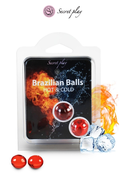 2 Brazillian balls effet chaud & froid