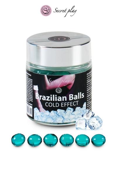 6 Brazilian Balls - effet frais