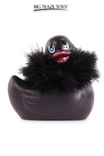 Mini canard vibrant Duckie Paris - noir : Le célèbre canard vibrant  en version mini Paris noir. nouveau modèle plus silencieux avec 7 modes de vibrations.