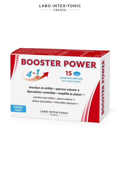 Aphrodisiaque masculin Booster Power (15 comprimés)