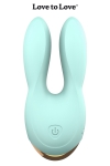 Double stimulateur Hear Me - bleu