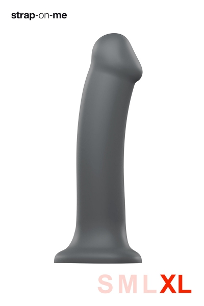 Dildo mono densité gris XL - Strap On Me