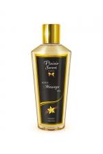 Huile sèche vanille : Huile de massage sèche au délicieux parfum de vanille pour des massages aussi relaxants que bons pour le corps.