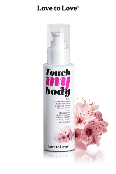 Fluide massage & lubrifiant - cerisier