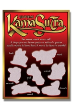 Carte à gratter Kama Sutra : Une carte  coquine à gratter pour titiller la libido de votre couple.
