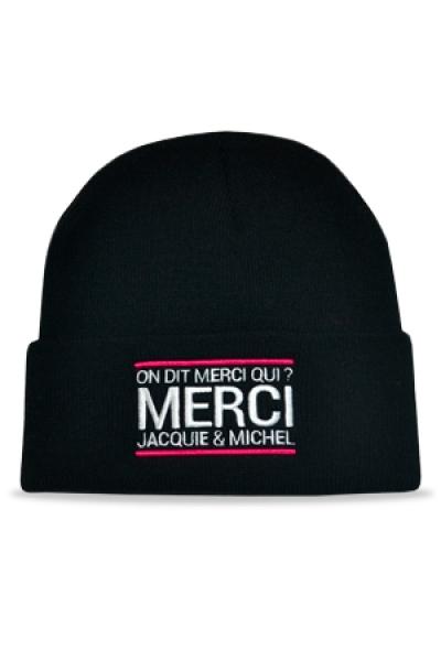 Bonnet Jacquie et Michel - noir