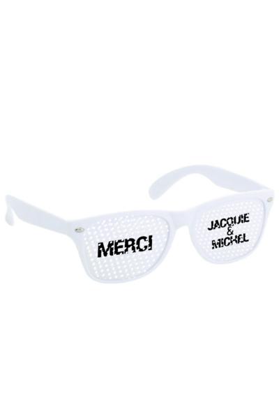 Lunettes Blanc blanc - Jacquie & Michel
