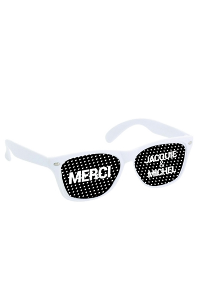 Lunettes Blanc noir - Jacquie & Michel