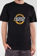 T-shirt J&M n°3 (taille XL 3XL) : Le Teeshirt exclusif (visuel 3) à l'effigie de  Jacquie & Michel, votre site amateur préféré.