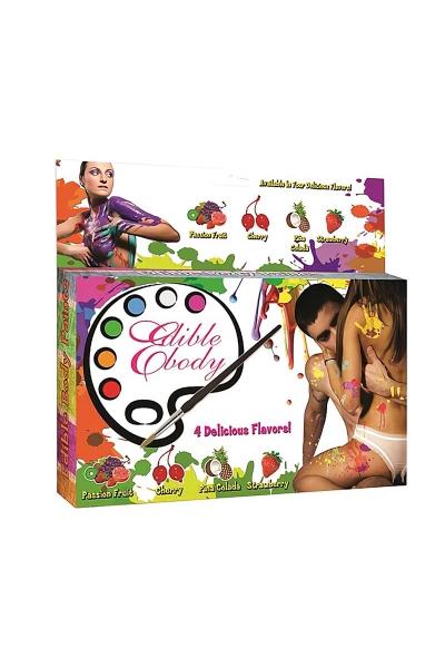 Peinture de corps comestible parfums fruités