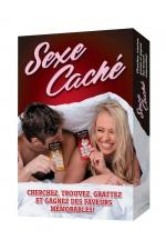 Jeu sexy Sexe Caché : Un jeu pour couple divertissant et romantique qui se transforme en chasse aux trésors Sexy!