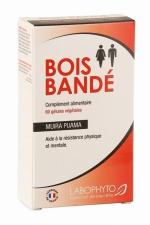 Bois Bandé (60 gélules) : 60 gélules végétales de BOIS BANDÉ (Muira Puama), l'aphrodisiaque pour Homme et femme qui améliore les relations sexuelles.