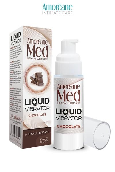 Lubrifiant Liquid Vibrator Chocolat 30ml - Amoreane Med
