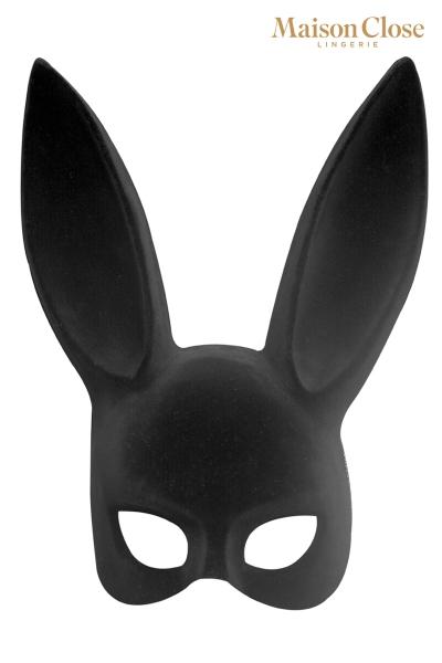 Masque lapin avec pompon - Maison Close