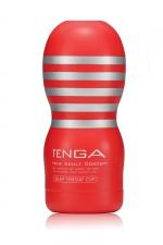 Masturbateur Tenga Deep Throat Cup Original : Sans aucun doute la meilleure fellation de votre vie avec le Tenga Original Vacuum Cup !