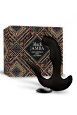 Stimulateur anal vibrant télécommandé unisexe - Black Jamba