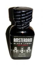 Poppers Amsterdam Black  label 24ml : Le poppers Amsterdam dans une nouvelle formule encore plus forte, Black Label oblige!