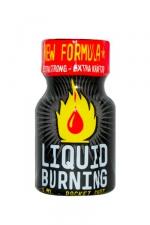Poppers Liquid Burning 9 ml : Arôme extrêmement puissant à base de nitrite de Pentyle, en flacon de poche de 9 ml.
